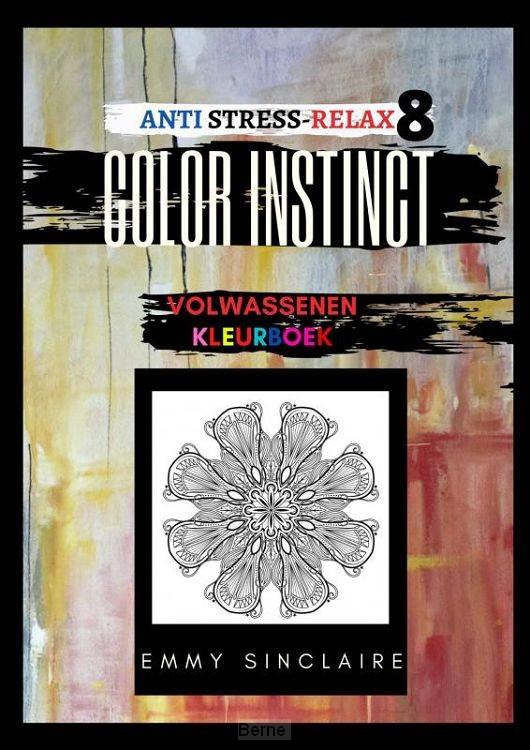 Volwassenen kleurboek Color Instinct 8 : Anti Stress Relax FLOW