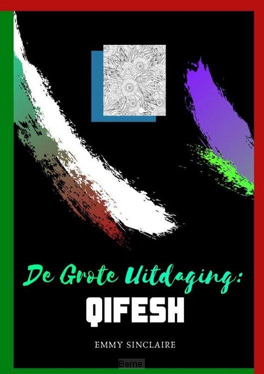 Volwassenen kleurboek De Grote Uitdaging : QIFESH