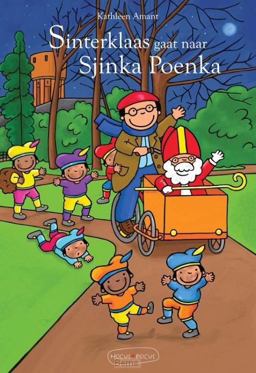Sinterklaas gaat naar Sjinka Poenka