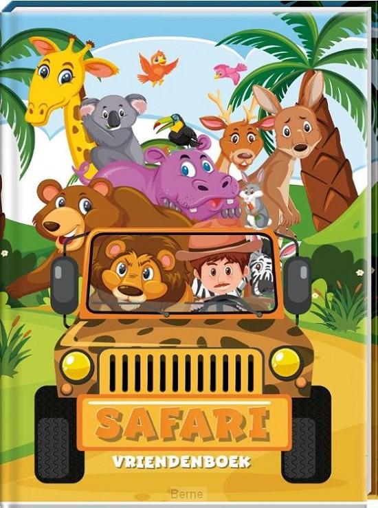 Vriendenboek - Jungle / Safari