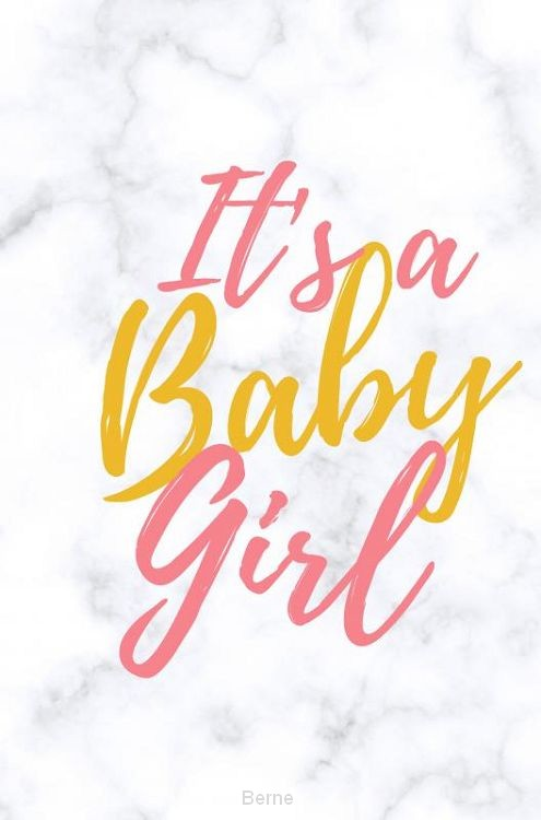 Babyshower gastenboek It's a baby girl