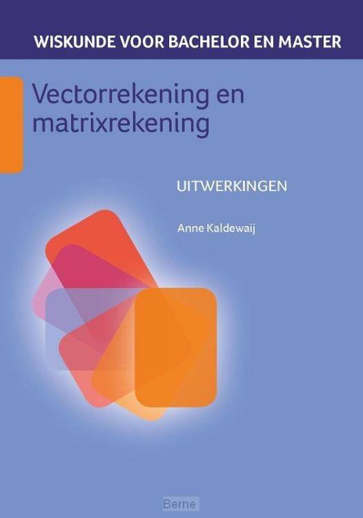 Vectorrekening en matrixrekening