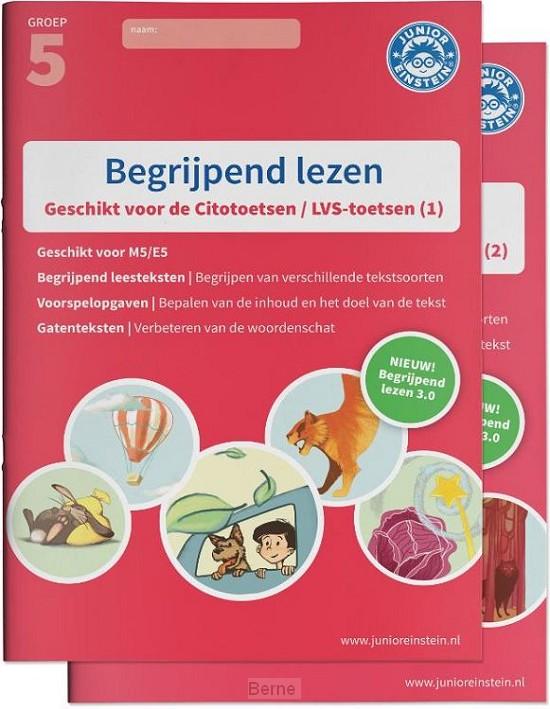 Groep 5 deel 1/2 / Begrijpend lezen Compleet delen 1 en 2 / Oefenboeken