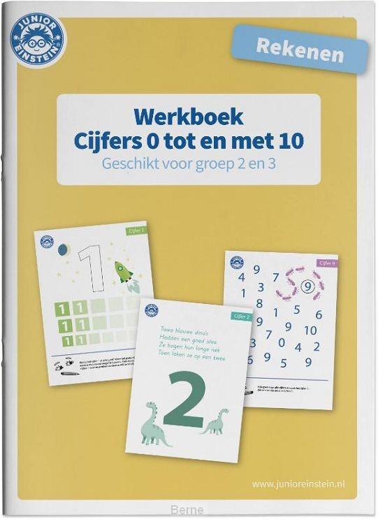 Cijfers 0 tm 10 voor groep 2 en 3 / Rekenen / Werkboek