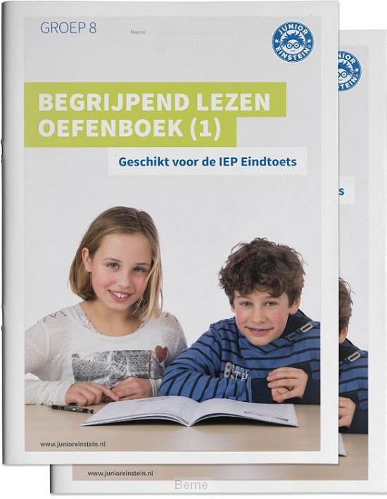 Begrijpend lezen oefenboeken / Geschikt voor de IEP Eindtoets Deel 1 en 2