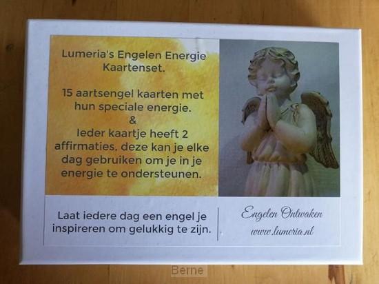 Lumeria's Engelen Energie Kaartenser