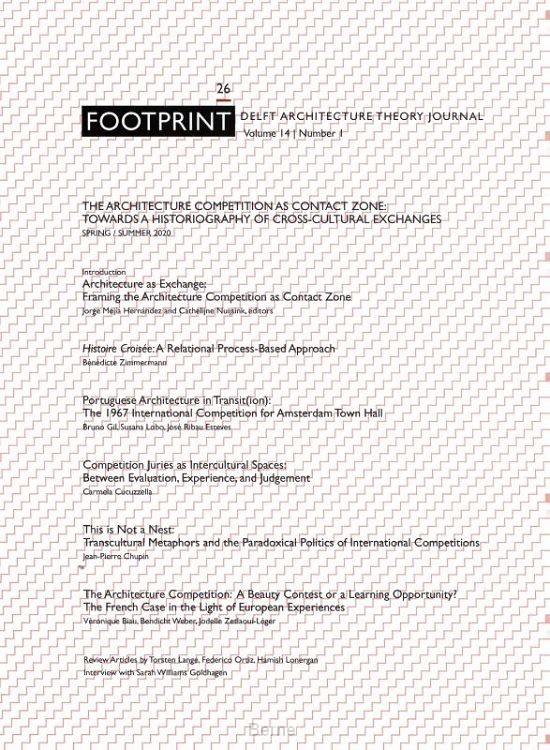 Footprint 26. The Architecture Competition as 'Contact Zone