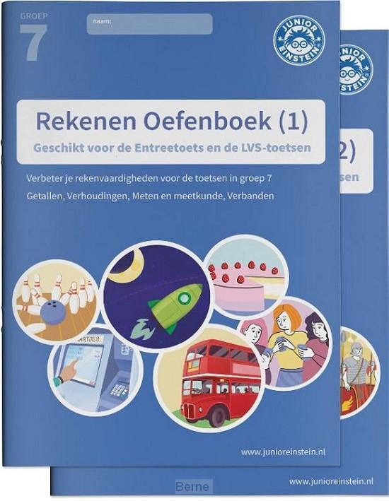 Rekenen Oefenboek delen 1 en 2 geschikt voor de Citotoets