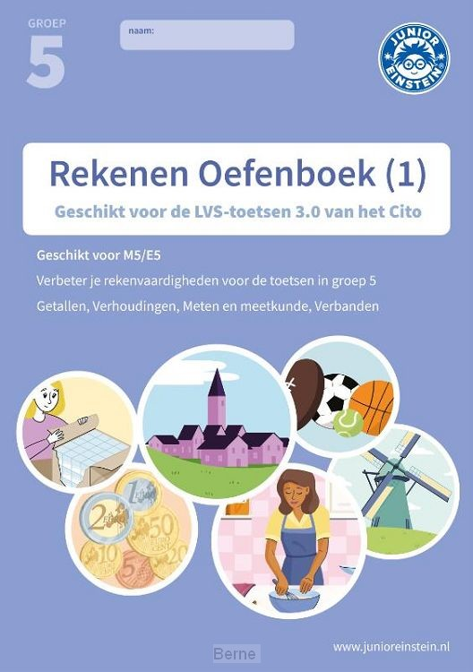 Rekenen Oefenboek deel 1 groep 5