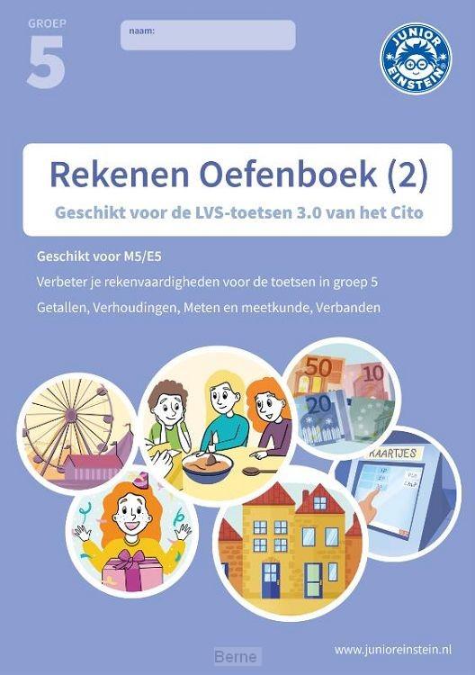Rekenen Oefenboek deel 2 groep 5