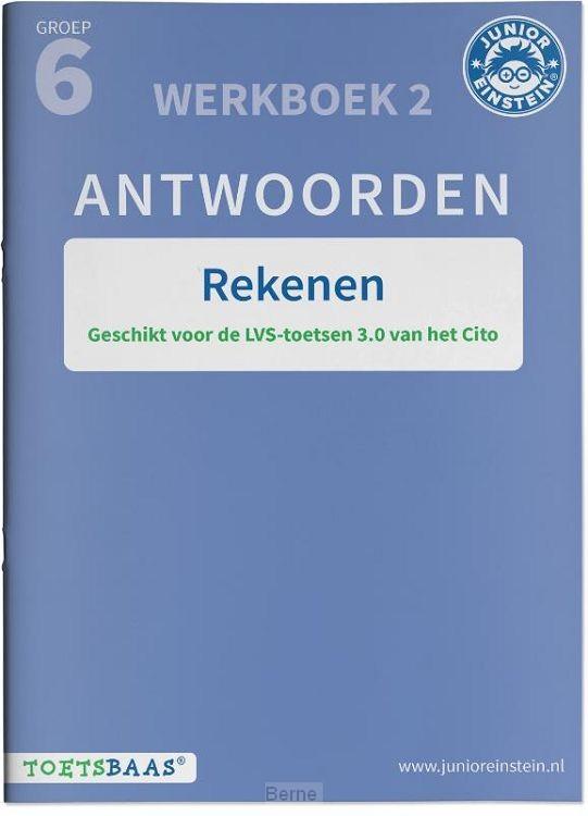 groep 6 / Rekenen antwoordenboek / Werkboek 2