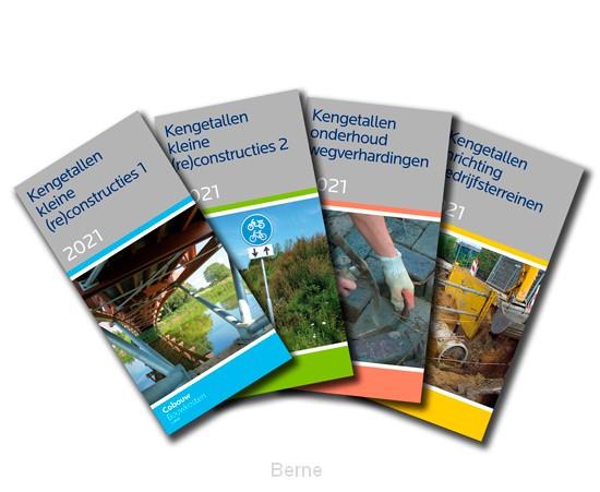 GWW-kengetallenserie 2021 (4 boeken)