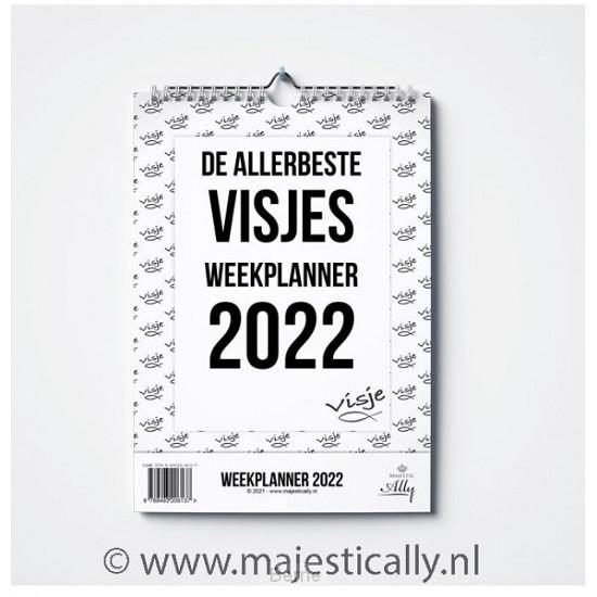 De allerbeste Visjes weekplanner 2022