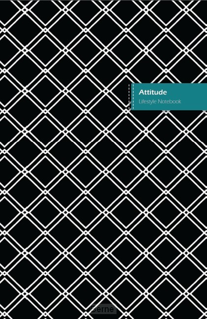Attitude Lifestyle Notebook, Write-in Dotted Line, 6 x 9 Inch (US Trade), 180 Pages (90shts)