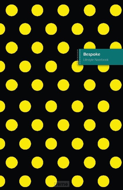 Bespoke II Lifestyle Notebook, Write-in Dotted Line, 6 x 9 Inch (US Trade), 180 Pages (90shts)