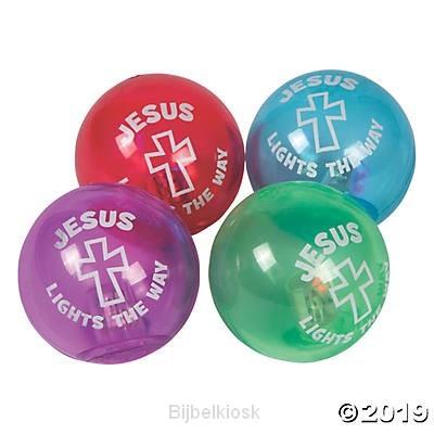 Jesus lights flashing bouncing balls (4)
