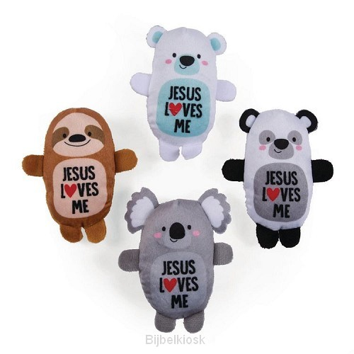 Jesus loves me stuffed animals (4)