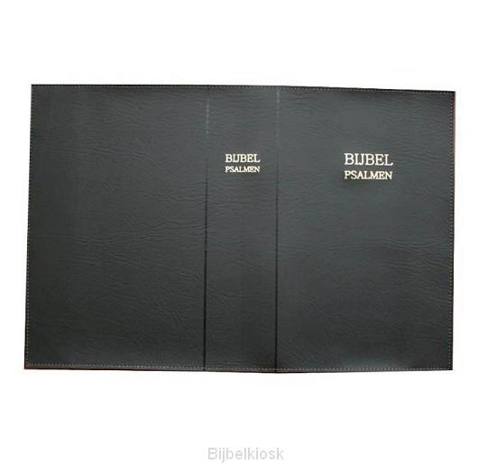 Bijbelomslag BO54 kunstl M41g zwart
