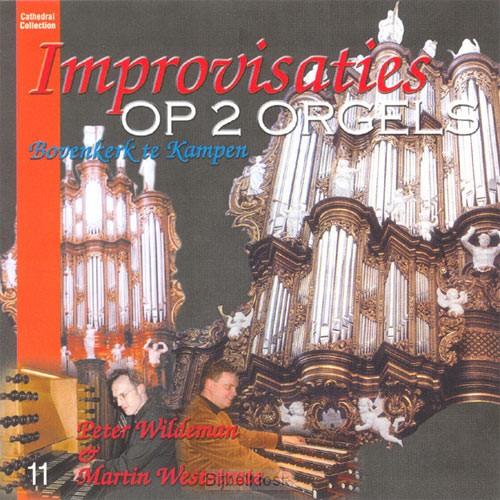 Improvisatie op twee orgels [+!+]