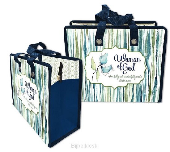 Laminated Tote Bag Woman of God