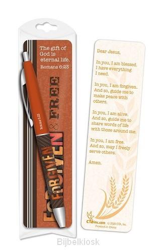 Pen/Bookmark Forgiven & Free