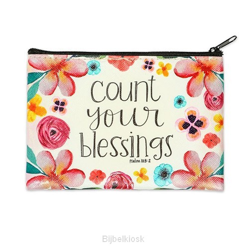 Coin Purse Count your blessings