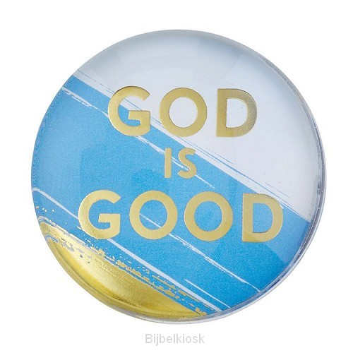 Magnet Round God is Good