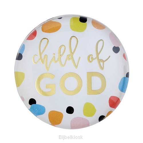 Magnet Round Child of God