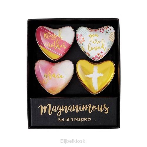 Magnet Set Heart Blessed Mother (set of