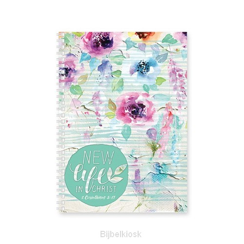 Softcover Journal New life in Christ