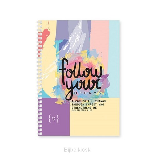 Softcover Journal Follow your dreams