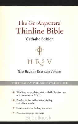 NRSV - G-A Bible, Cath. Ed. Black Leathe