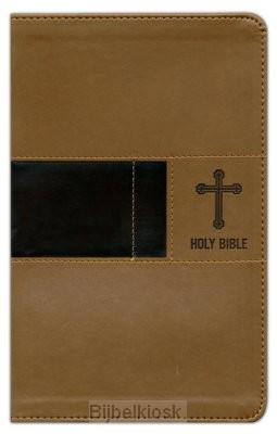 NIV - Prem. Gift Bible, Brown, Leatherso