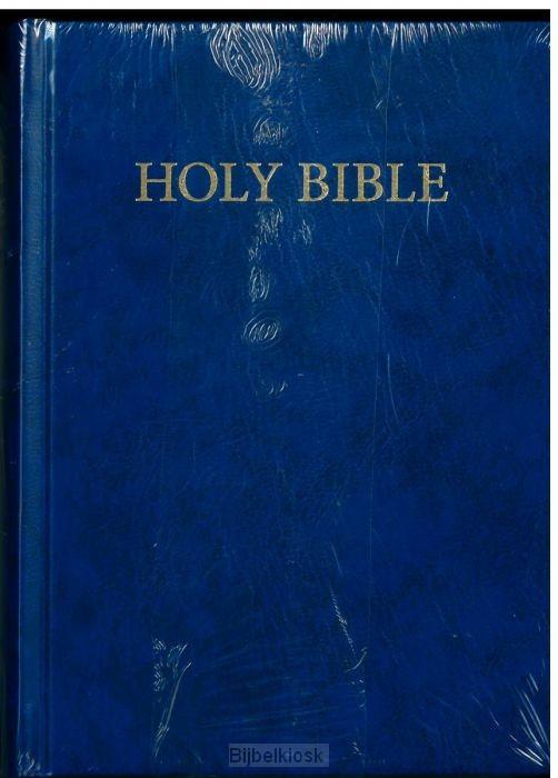 KJVA Compact Bible, Blue hardcover