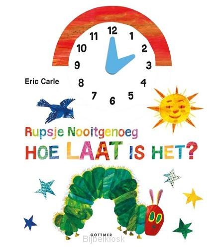Rupsje nooitgenoeg hoe laat is het?