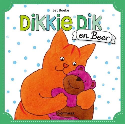 Dikkie Dik en Beer met 2 handpoppen
