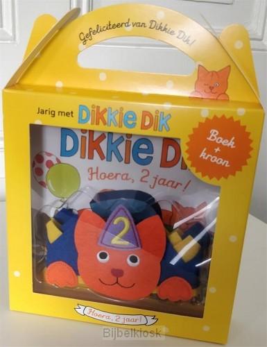 Jarig met Dikkie Dik - Hoera 2 jaar!