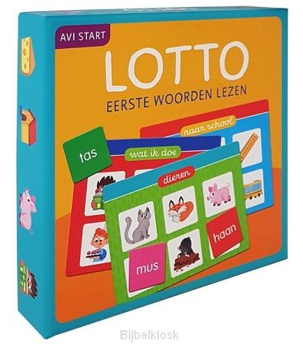 Lotto Eerste woorden lezen