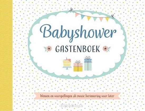 Babyshower - Gastenboek