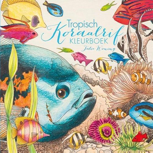 Tropisch koraalrif kleurboek