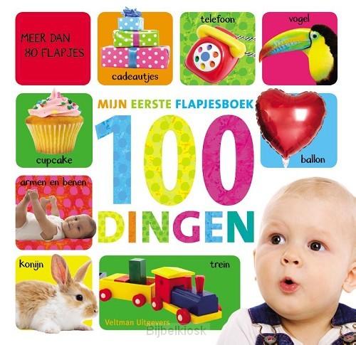 Mijn eerste flapjesboek 100 dingen