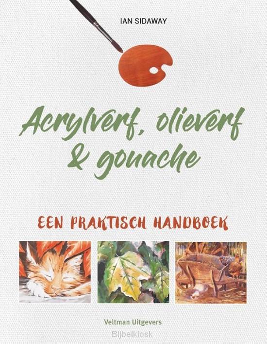 Acrylverf olieverf & gouache