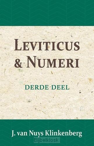 Bijbelverklaring Leviticus en Numeri