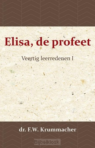 Elisa, de profeet I