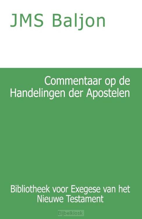 Commentaar op de Handelingen der Apostel