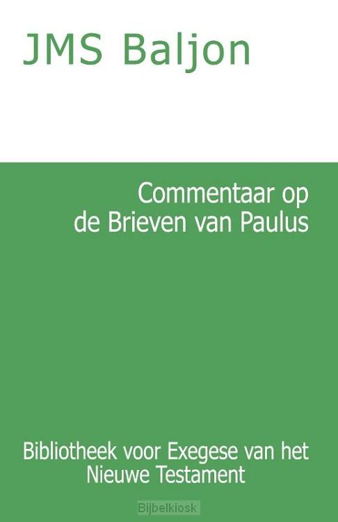Commentaar op de Brieven van Paulus