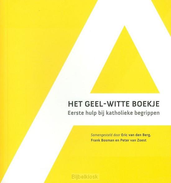 Geel-witte boekje