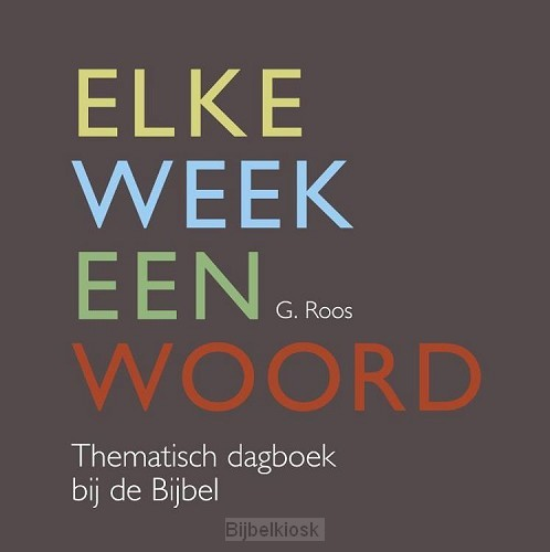 Elke week een woord