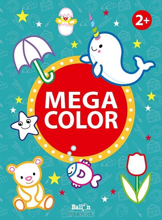 Mega color geel  2+