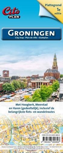 Stadsplategrond Groningen